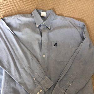 Mickey Mouse Logo button down shirt   Long sleeve